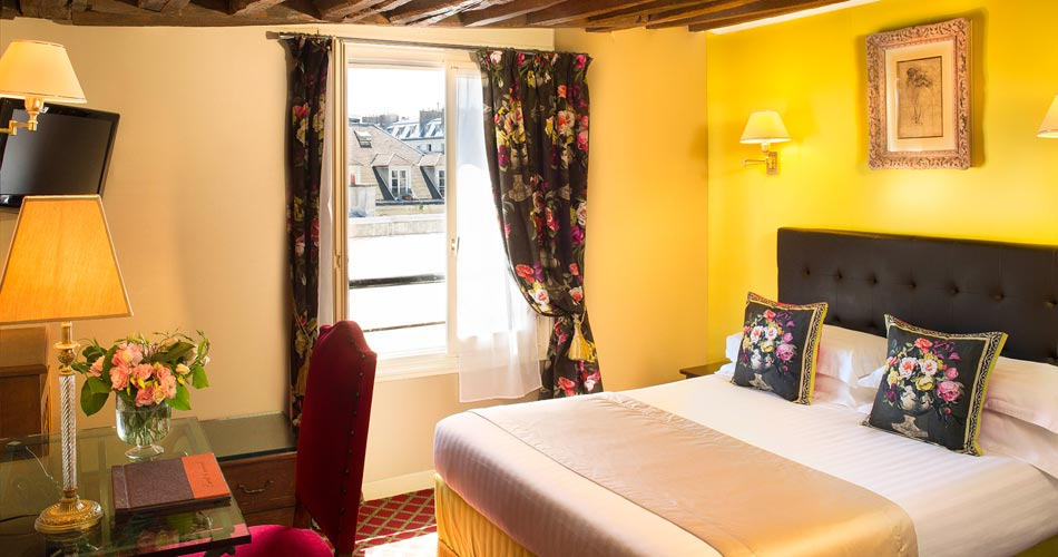 Double Room Garden side - Hotel des Marronniers Paris