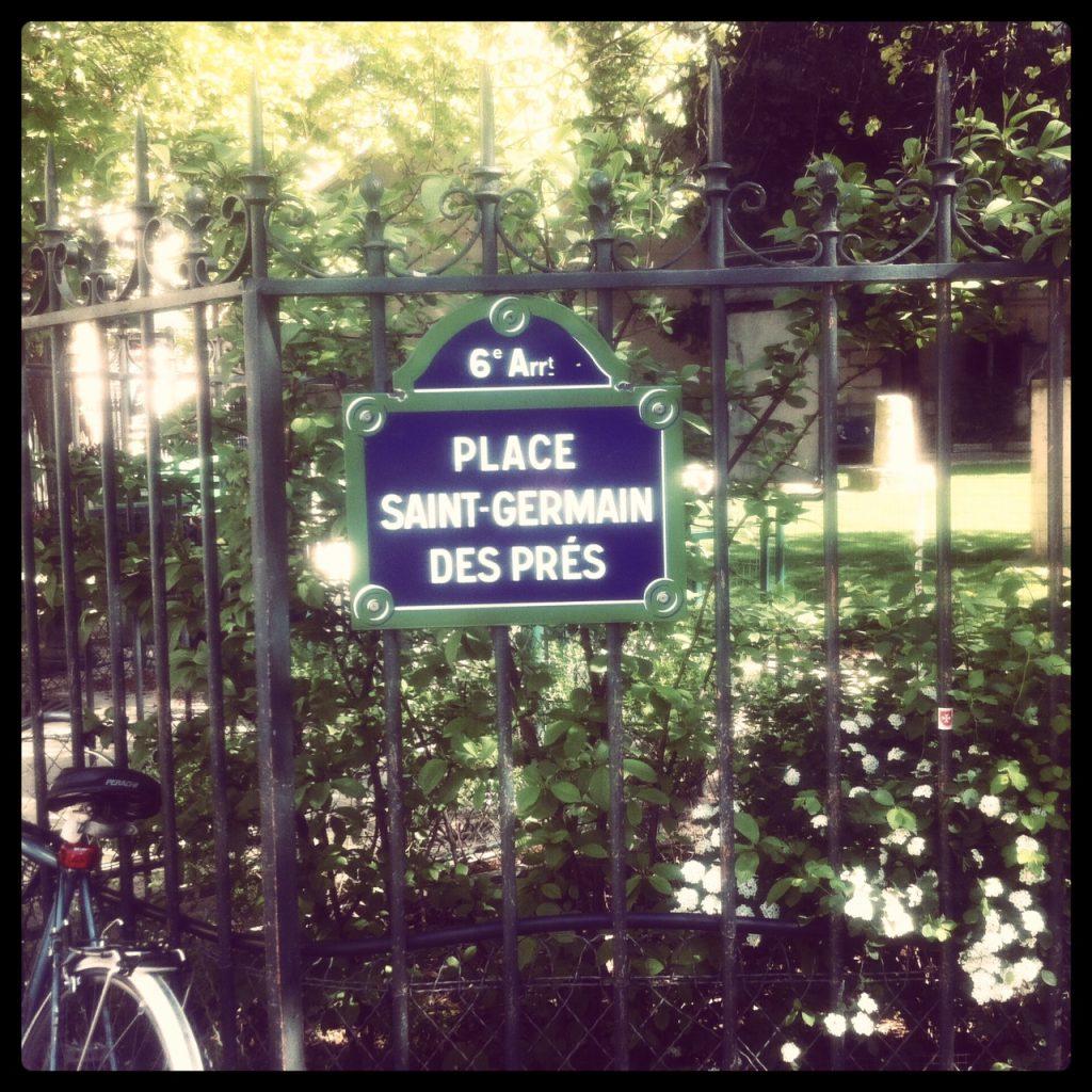 Balade Place Saint-Germain-des-Prés