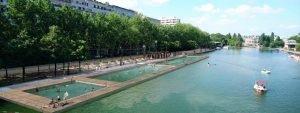 Idées baignade à Paris cet été par l'Hôtel des Marronniers