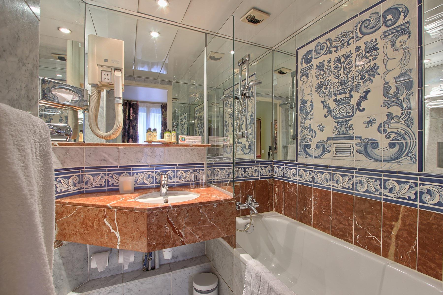 Chambre Double classique hotel des marronniers