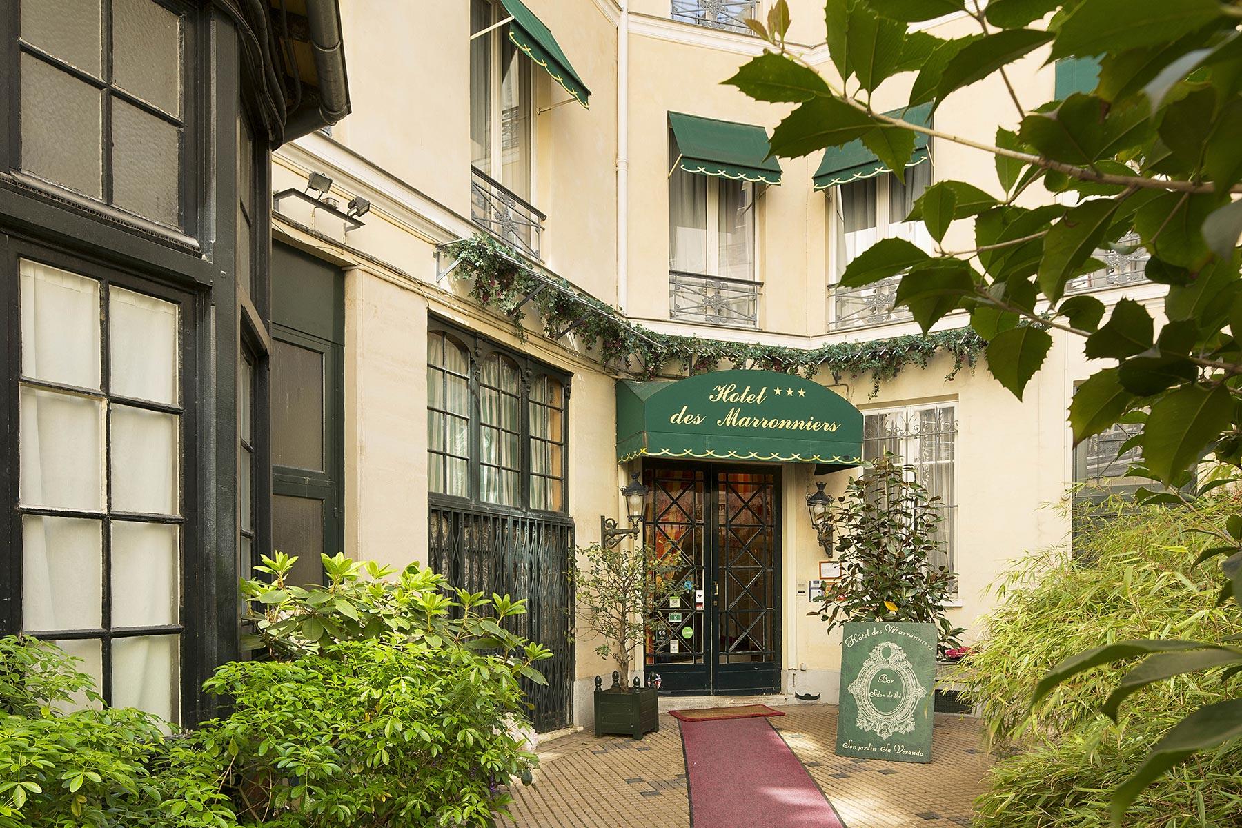 Hôtel des Marronniers Paris Saint Germain des Prés